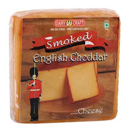 Smoked English Cheddar Cheese - Dairy Craft