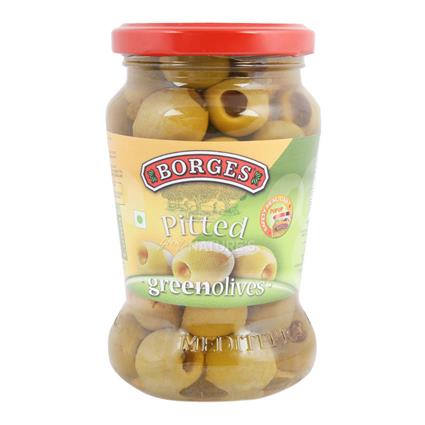 Pitted Green Olives - Borges