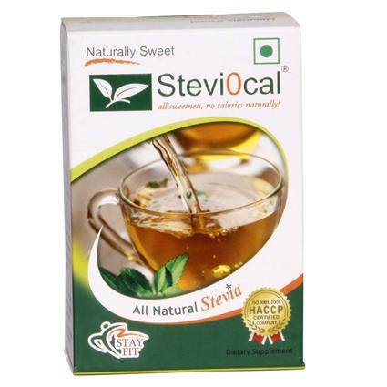 Natural Sweetener  -  50 Sachets - Steviocal