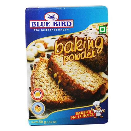 BLUEBIRD BAKING POWDER 50 GMS.
