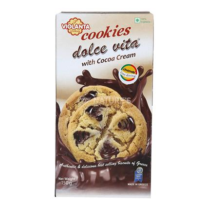 Cookies Dolce Vita With Cocoa Cream - Violanta