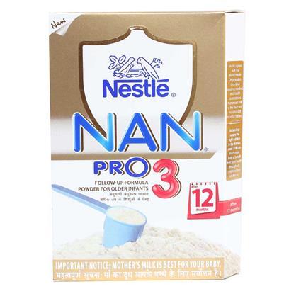 Nan Pro 3 Follow-Up Formula Powder-Nestle