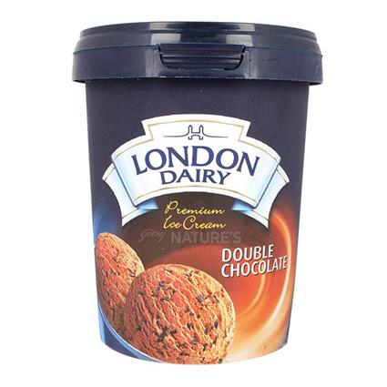 Double Chocolate Ice Cream - London Dairy