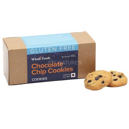 Chocochip Cookies  -  Gluten Free - Wholefood