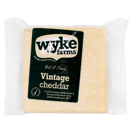 Rich & Creamy Vintage Cheddar - Wyke Farm