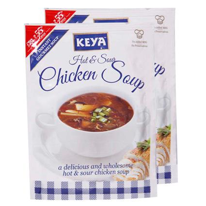 Instant Soup - Hot & Sour Chicken - Keya