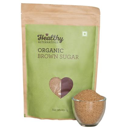 Organic Brown Sugar - Healthy Alternatives