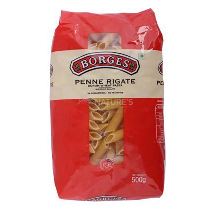 Penne Rigate Durum Wheat Pasta - Borges