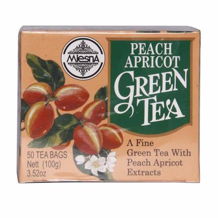 Green Tea  -  Peach & Apricot - Mlesna