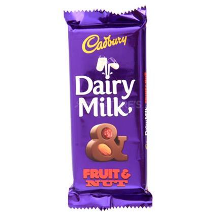 Dairy Milk Fruit And Nut Chocolate-Cadbury