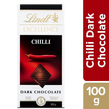 LINDT EXCELLENCE CHILLI DARK 100G