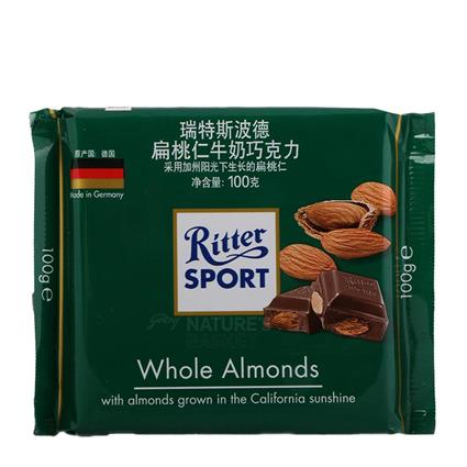 Whole Almonds Chocolate - Ritter Sport