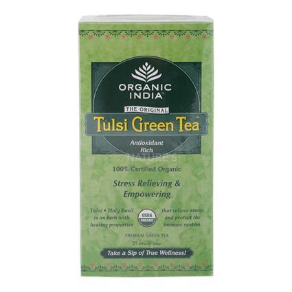 Organic Tulsi Green Tea  -  25 TB - Organic India