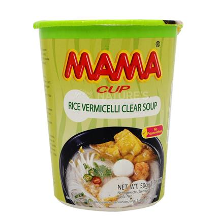 Cup Rice Vermicelli Clear Soup - Mama Cup