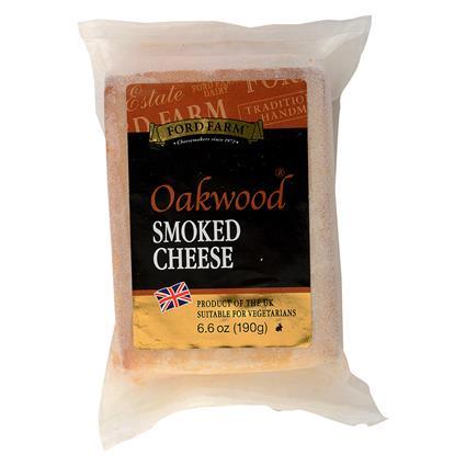 Oakwood Smoked Cheddar Cheese - Ford Farm