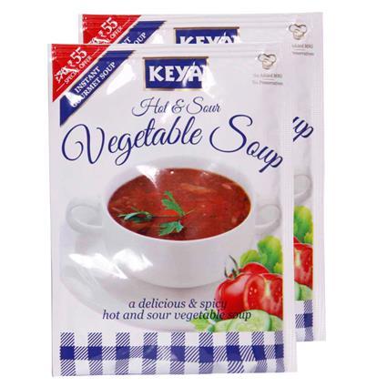 Instant Soup - Hot & Sour Vegetable - Keya