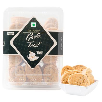 Garlic Toast - Desi Nature