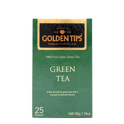 Pure Indian Green Tea - Golden Tips