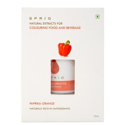 Paprika Orange Food Colouring - Sprig