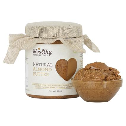 Almond Butter - Healthy Alternatives