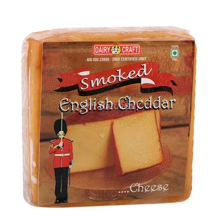 Smoked English Cheddar Cheese - Dairy Craft