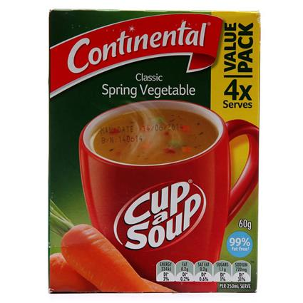 Cup - A - Soup  -  Spring Vegetable - Continental