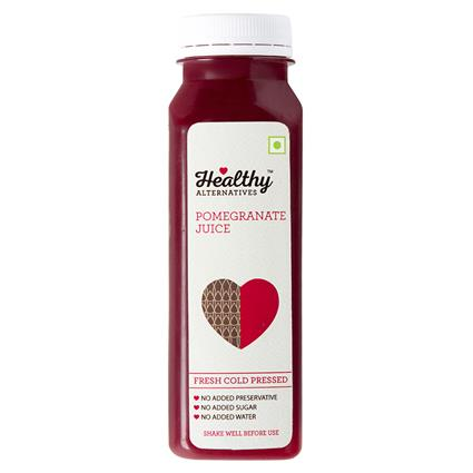 Cold Pressed Juice Pomegranate - Healthy Alternatives