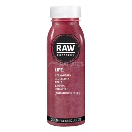 Cold Pressed Juice - Life - Raw Pressery