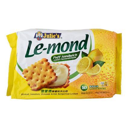 Lemon Puff Biscuit - Julie's