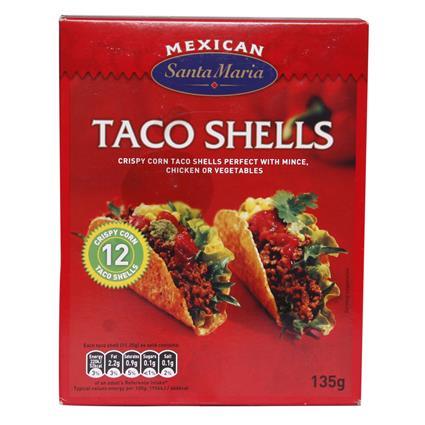 Mexican Taco Shells - Santa Maria