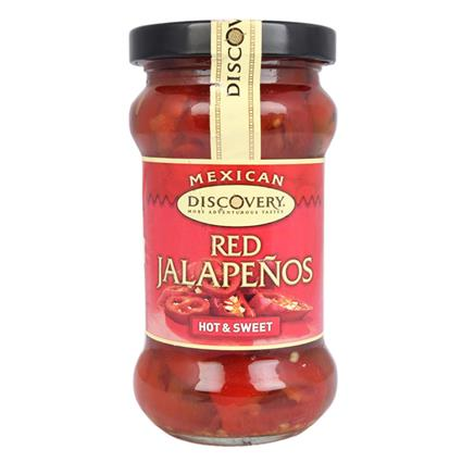 Red Jalapenos Hot & Sweet Sauce - Discovery