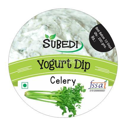 Celery Yogurt Dip - Subedi
