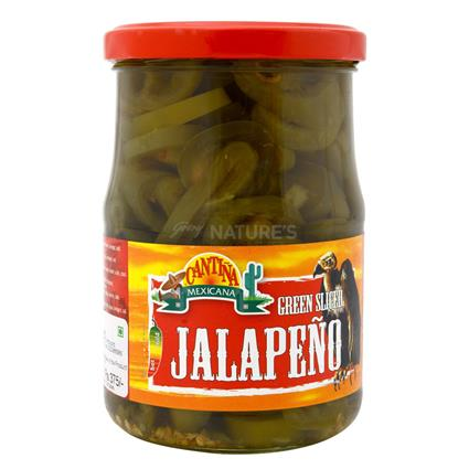 CENTINA GREEN JALAPENO SLICED 580Ml