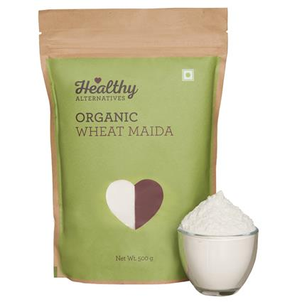 HA ORGANIC WHEAT MAIDA 500G