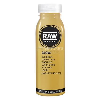 RAW PRESSERY GLOW JUICE 250ML BTL