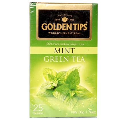 Mint Green Tea - Golden Tips