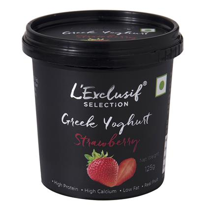 Greek Yogurt Strawberry - L'exclusif