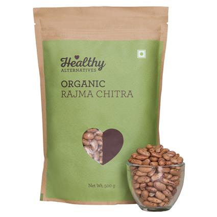 Organic Rajma Chitra - Healthy Alternatives