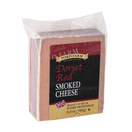 Dorset Red Smoked Cheddar Cheese - Ford Farm