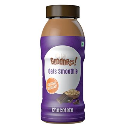 Chocolate Oats Smoothie - Goodness