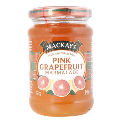 MACKAYS PINK GRAPE FRUT MARMALADE 340G