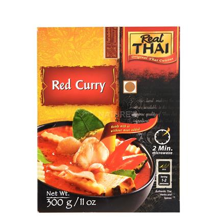Real Thai Red Curry W/  Vegetable - Real Thai