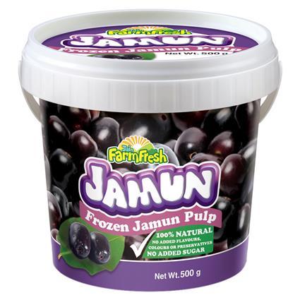 Frozen Jamun Pulp - Jain Farm Fresh