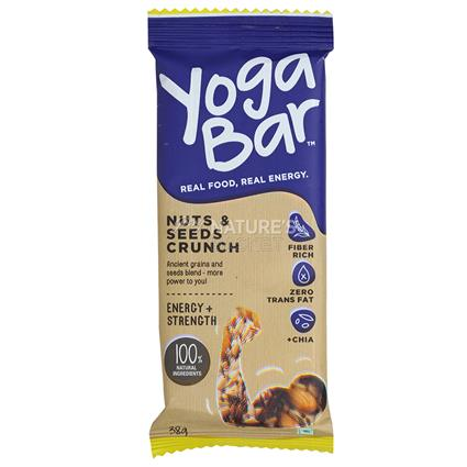 Nuts & Seeds Nutrition Bar - Yoga Bar