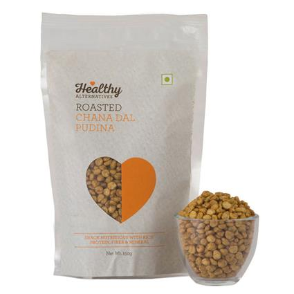 Chana Dal Pudhina Roasted Snack - Healthy Alternatives