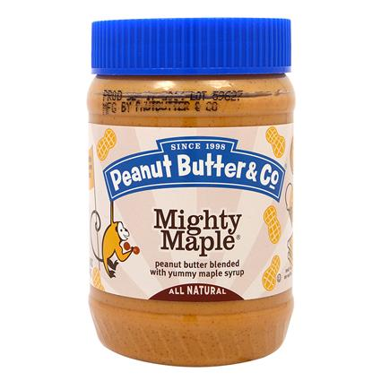 Mighty Maple Peanut Butter - Maple Syrup - Peanut Butter & Co