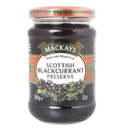 Scottish Blackcurrant Preserve - Mackays