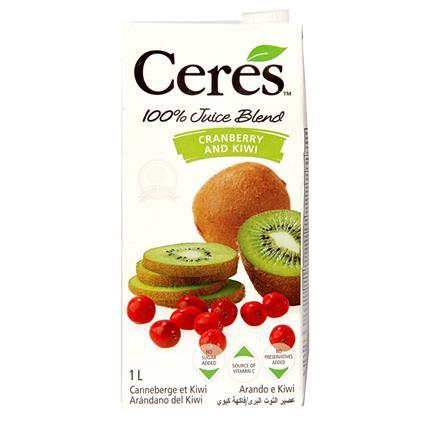 Juice Blend  -  Cranberry & Kiwi - Ceres