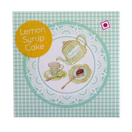 Lemon Syrup Cake - Theobrama