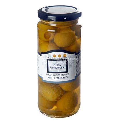 Hand Stuffed Olives With Onions - Olea Europaea